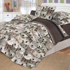 «DL-16-282» 1,5 - спальное постельное белье, Поплин, Вальтери