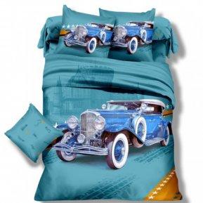 «DS-08-282» 1,5 - спальное постельное белье, Сатин, Вальтери