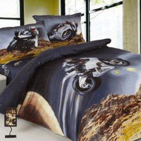 «DS-10-282» 1,5 - спальное постельное белье, Сатин, Вальтери