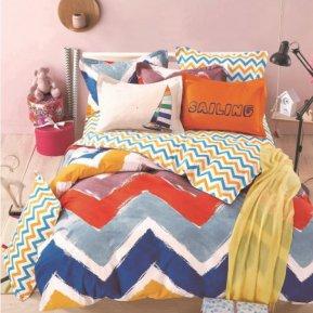 «DS-59-282» 1,5 - спальное постельное белье, Сатин, Вальтери