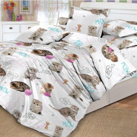 «DL-18-282» 1,5 - спальное постельное белье, Поплин, Вальтери