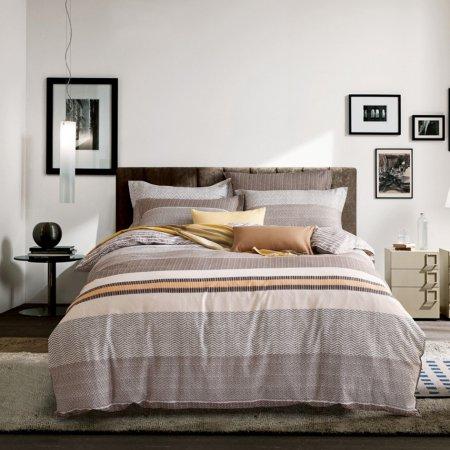 Постельное белье «C-241-282» 1,5 - спальное, Сатин, Вальтери