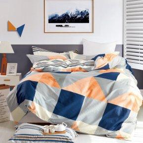 «DS-43-282» 1,5 - спальное постельное белье, Сатин, Вальтери