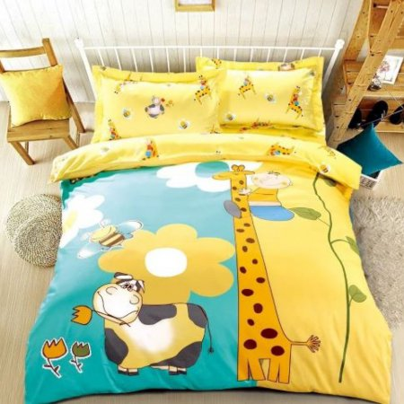 «DS-67-282» 1,5 - спальное постельное белье, Сатин, Вальтери