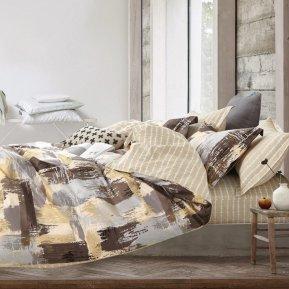«DS-62-282» 1,5 - спальное постельное белье, Сатин, Вальтери