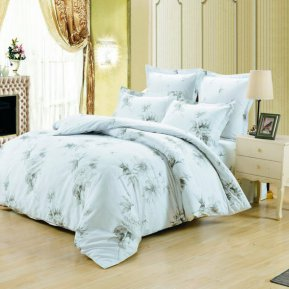 «C-237-282» 1,5 - спальное постельное белье, Сатин, Вальтери