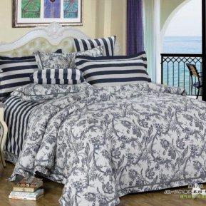 «C-161-171» семейное постельное белье, Сатин, Вальтери